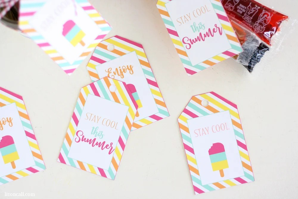 photo relating to Have a Cool Summer Printable named No cost Printable Summer months Reward Tags - Printable Crush
