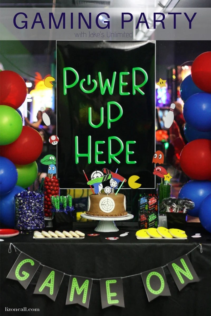 ultimate gaming party free printables