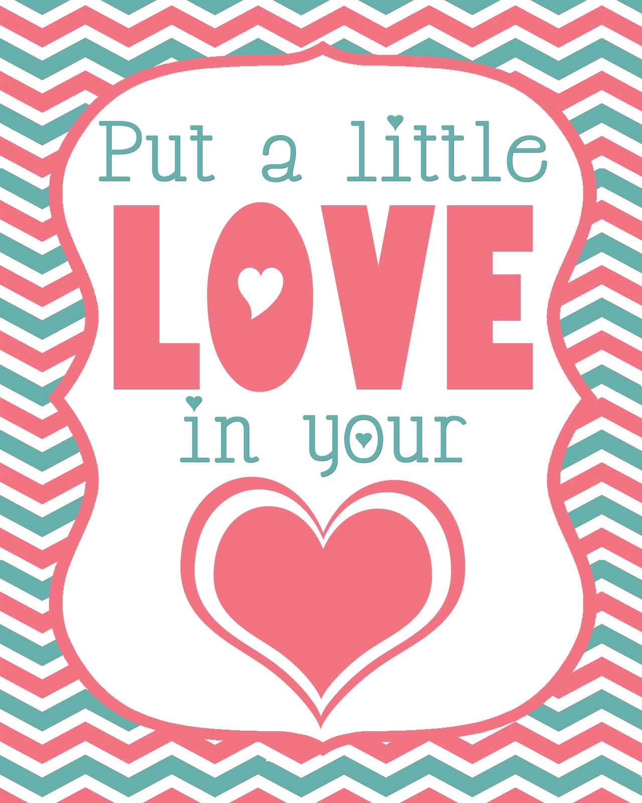 Valentine S Love Printable