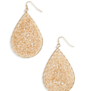 Crystal Teardrop Earrings PANACEA
