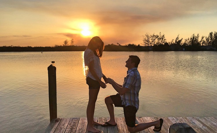 perfect engagement cocoa beach florida
