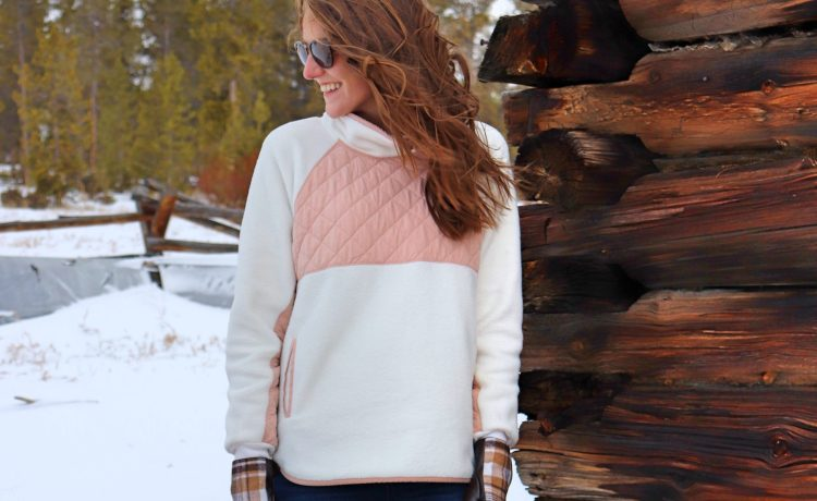abercrombie asymmetrical snap fleece granby colorado