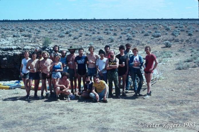 Cocklebiddy 1983 group shot