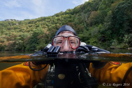 Selfie in the Lot River