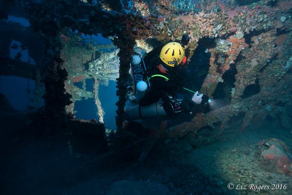 Diving the Malta Schnellboot