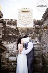 St. Augustine Wedding Elopement Castillo De San Marcos