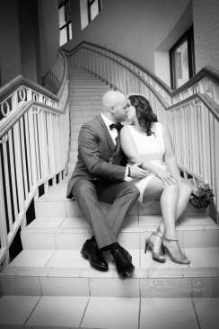 Kissing On Steps