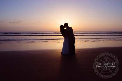 Katelyn Neal Daytona Beach Sunrise Wedding 7