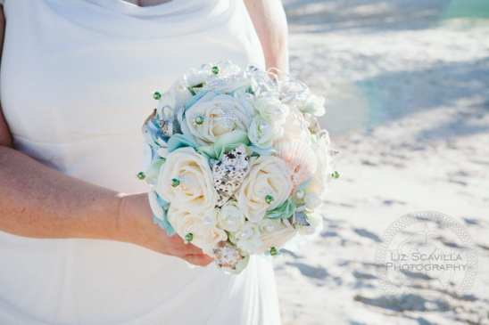 Flowers in Bride's Hands