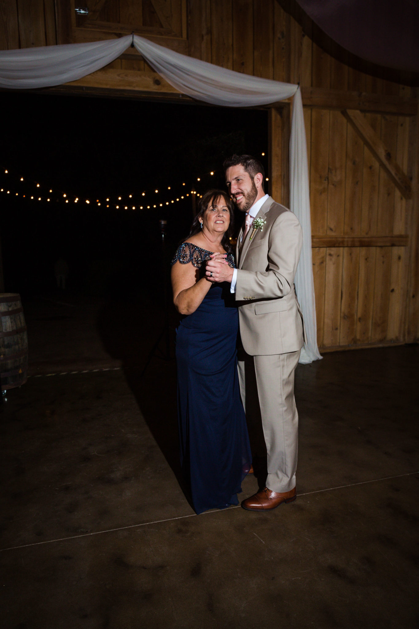 The mother-son dance.