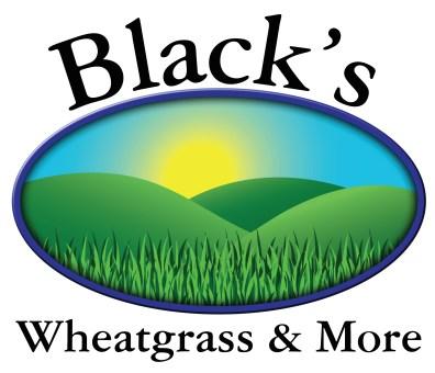 Logo Design - Black's Wheatgrass & More
