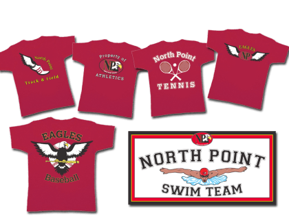 Team Logos for North Point High School