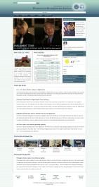 WHS Website Mock-Up