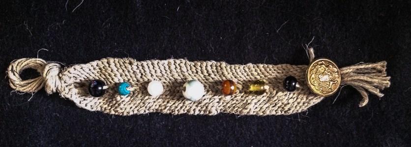 Hemp with Glass Beads
