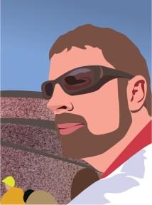Jon at FedEx Field Vector