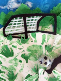 3D Soccer Collage - Close Up