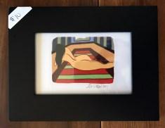 Framed iPad Illustration