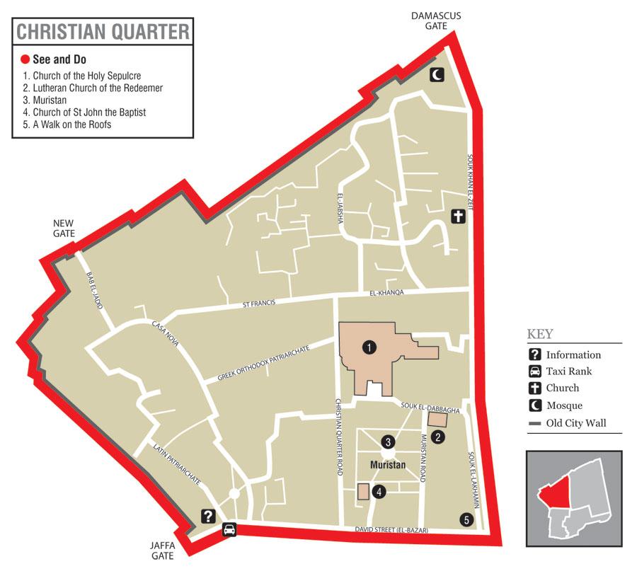 Yerushaláyim, al-Quds, Jerusalem:  The Christian Quarter (2/6)