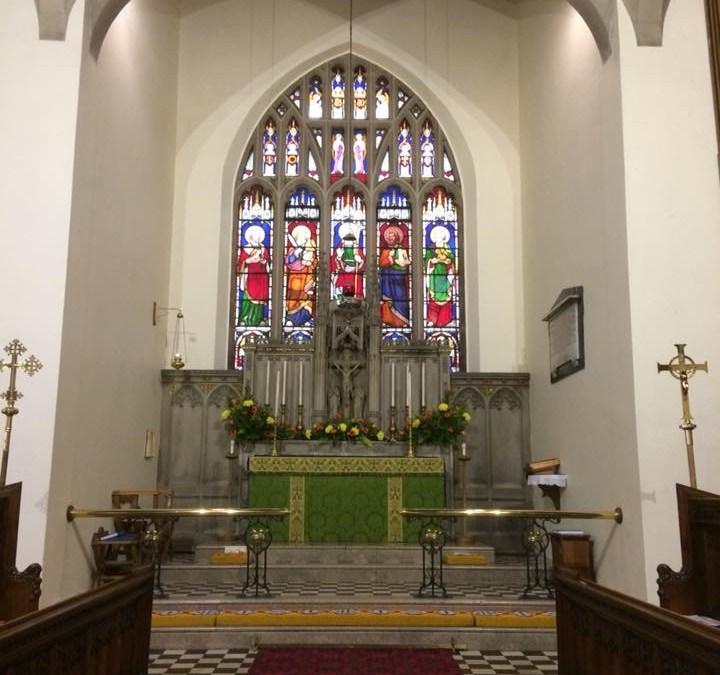 St Paul's Church, Winlaton 190th anniversary celebration