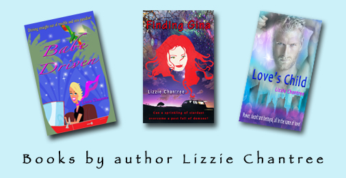 Lizzie Chantree 3 books Twitter Ad