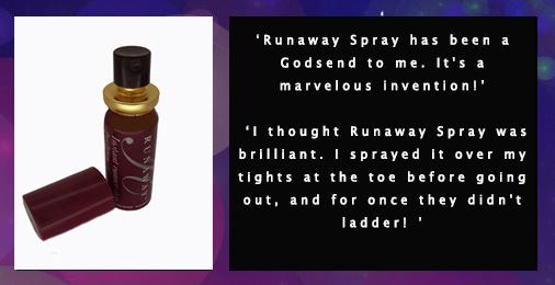 Runaway Spray Twitter Ad