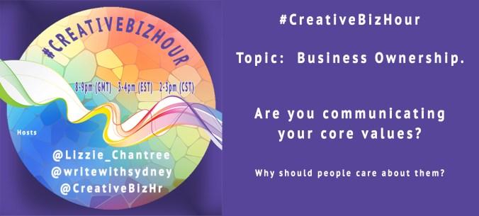 Creativebizhour Business ownership Question 3