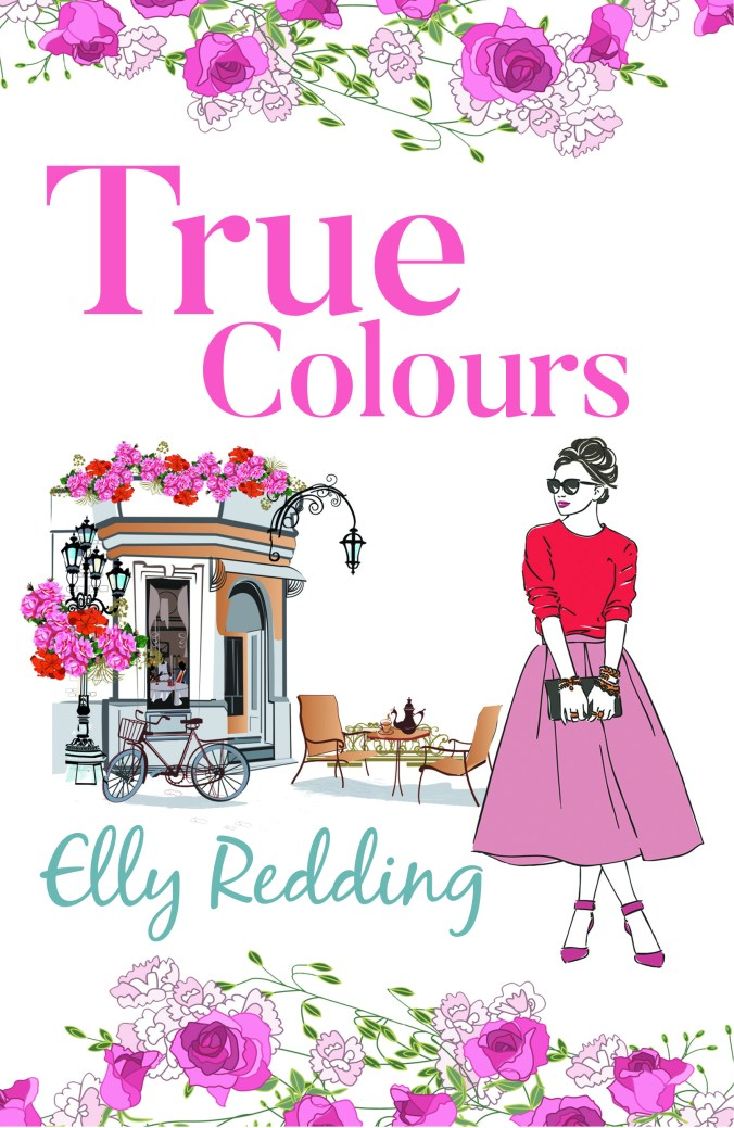 Book cover of True Colours-1