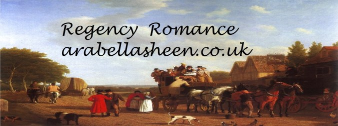 Arabella Sheen - Regency Romance - Banner