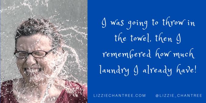 Towel meme by Lizzie Chantree
