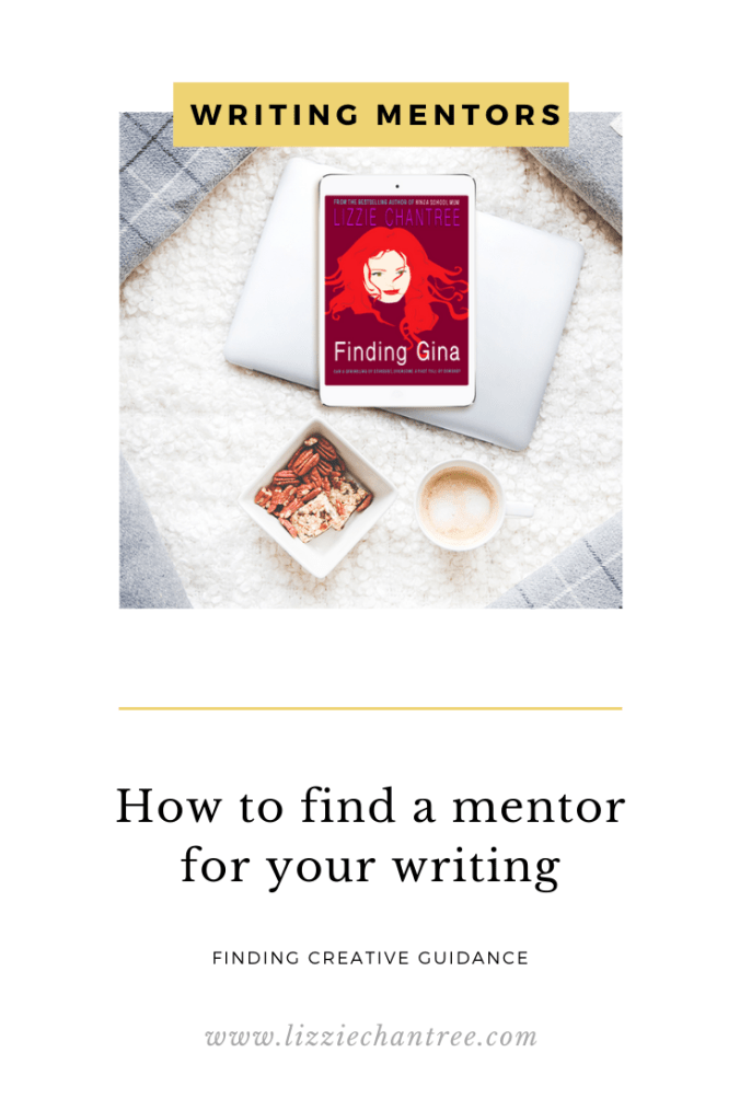 How to find a writing mentor pin by Lizzie Chantree