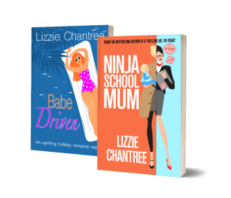 New book covers by LIzzie Chantree