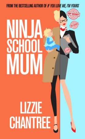 Ninja School mUm new cover. Lizzie Chantree