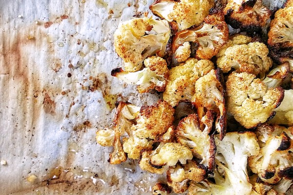 lizzie homemaker roasted cauliflower