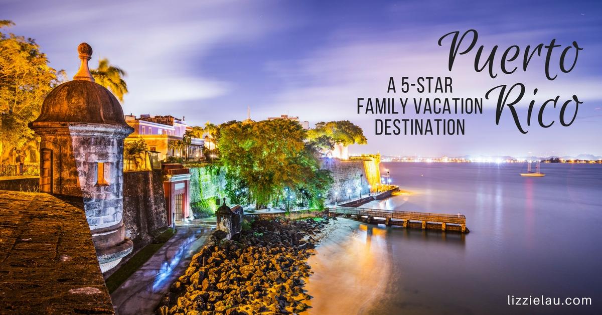 Puerto Rico, A 5-Star Family Vacation Destination #familytravel #ad