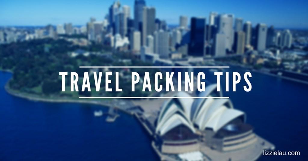 single mom travel packing tips