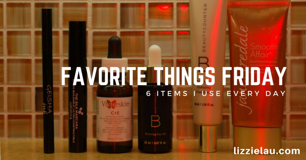 Favorite Things Friday – 6 Items I Use Every Day