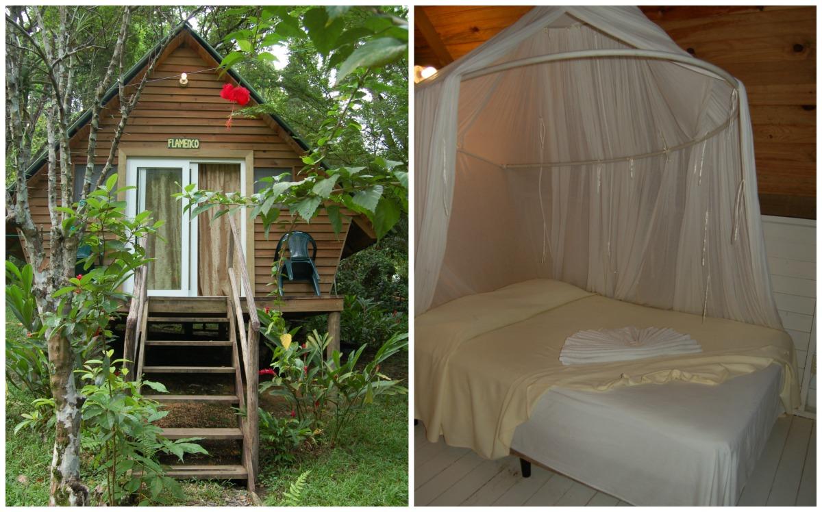Hacienda Tijax Hotel & Jungle Lodge in Rio Dulce, Guatemala.