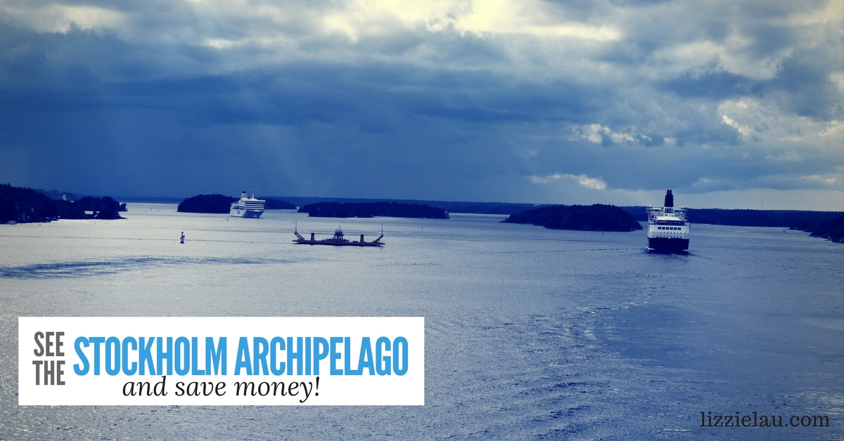 See the Stockholm Archipelago and Save Money