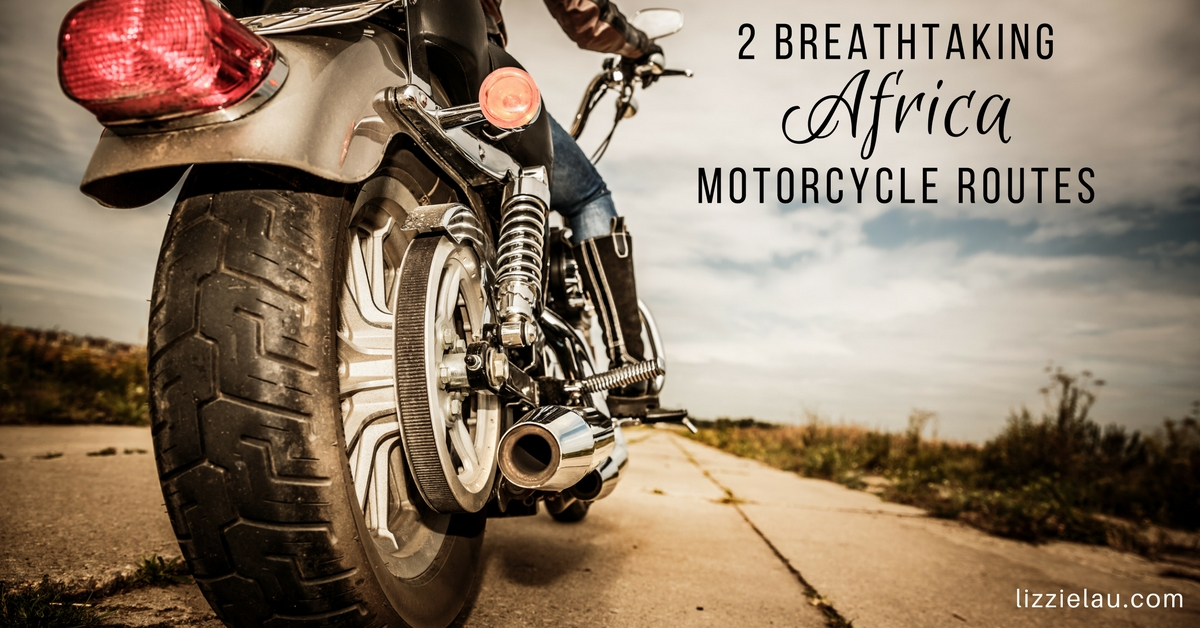 Two Breathtaking Africa Motorcycle Routes #ad