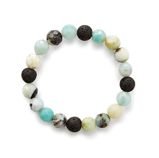 Amazonite essential oil bracelet