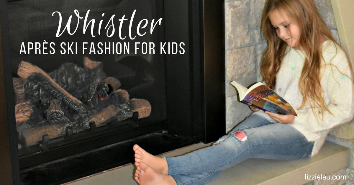 Whistler Après-Ski Fashion For Kids