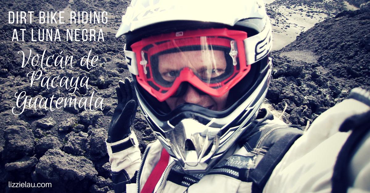 Dirt Bike Riding at Luna Negra Volcan de Pacaya