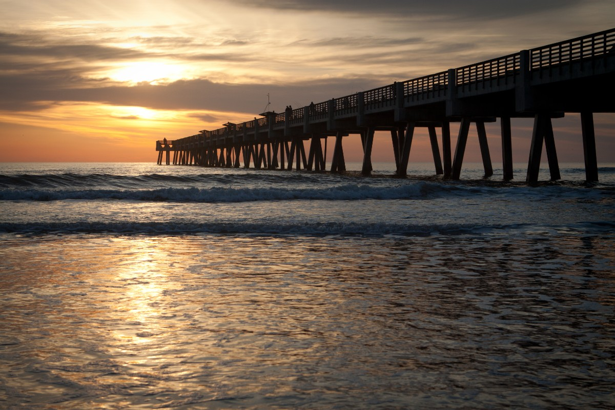 Jacksonville with kids Fishing Pier