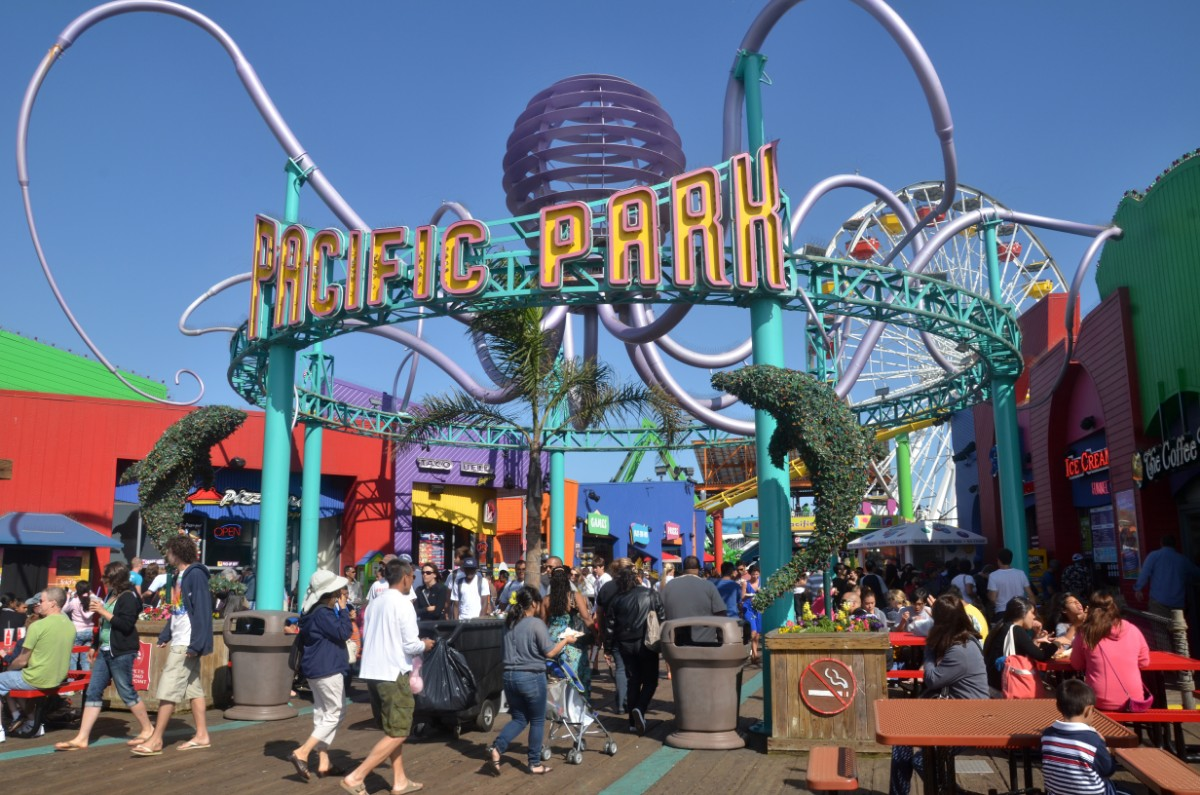 Pacific Park Santa Monica with kids