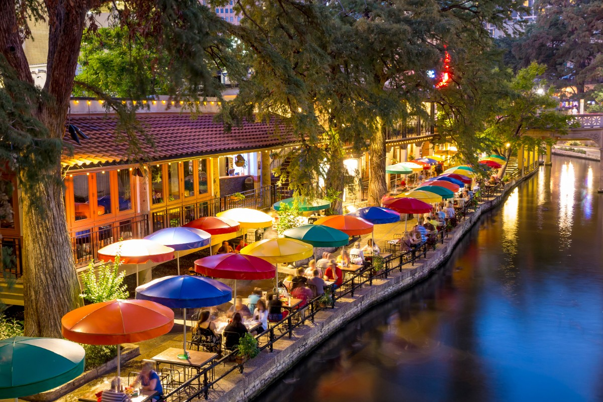 San Antonio with kids River Walk