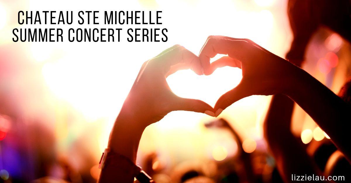 Chateau Ste Michelle summer concert series