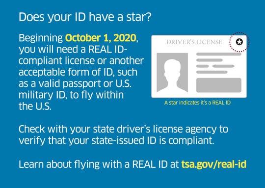 TSA Real ID Requirements