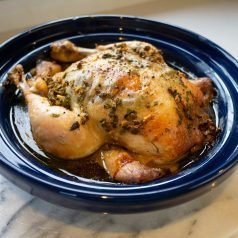Slow Cooked Olive and Lemon Chicken