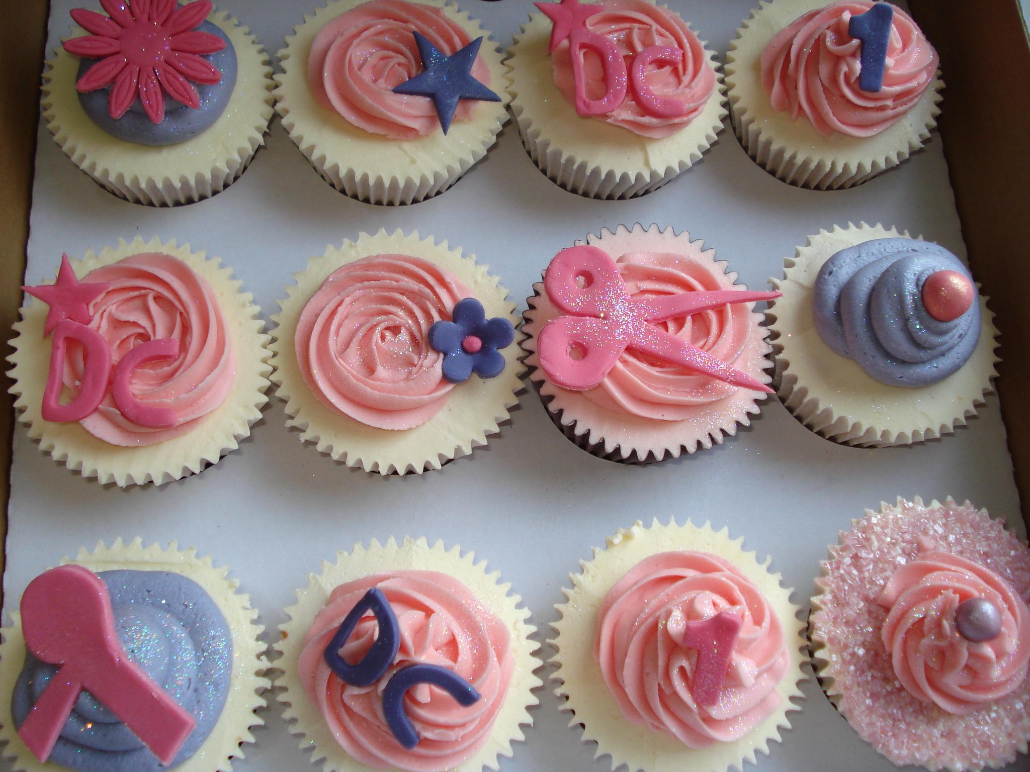 Hairsalon cupcakes