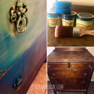 "Dresser Makeover with Dixie Bell Chalk Paint ""Rustic Boho"""